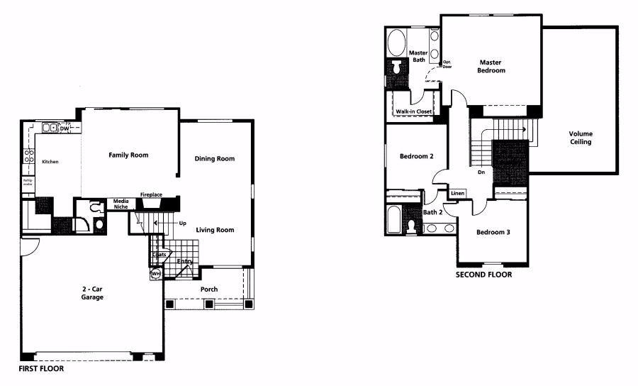 Violet floor plan