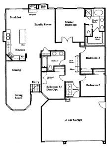 Sabrina - Floorplan