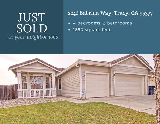 Sabrina Just Sold